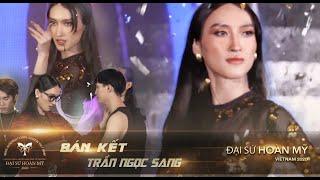 Phần thi tài năng tài năng nhảy hiện đại của Trần Ngọc Sang - Team Hoàng Thùy   Top 8 Bán Kết
