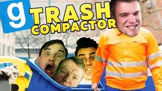WYRZUCAM ŚMIECI! | Garry's mod (With: Plaga, Dobrodziej, Drwal, Kiszak) #720 - Trash Compactor [#11]