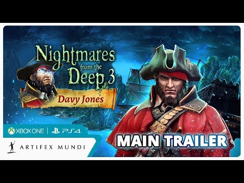 Nightmares from the Deep 3: Davy Jones Trailer