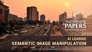 AI Learns Semantic Image Manipulation   Two Minute Papers #217