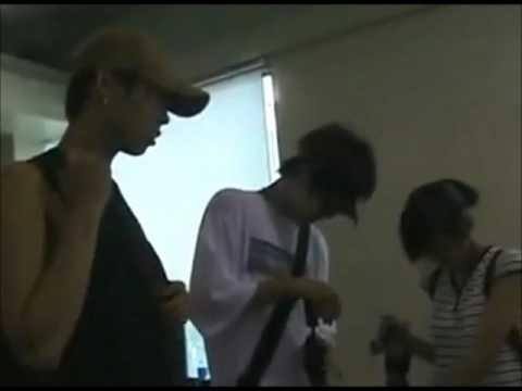 Heechul and Kibum during SM Trainee days