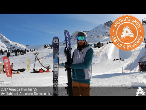 2016 / 2017 | Armada Invictus 95 Skis | Video Review