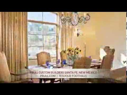 Prull Custom Home Builders in Santa Fe, New Mexico - Tesuque Foothills
