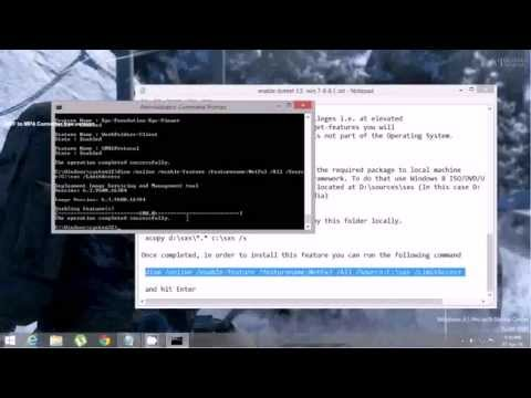 [Tutorial] How to install .Net Framework 3.5 on Windows 7 8 8.1  (dot net)