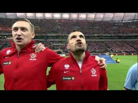Tak polscy piłkarze zagrzewają się do walki!