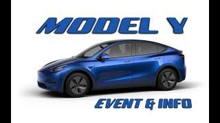 Model Y Event in 3 minutes | Plus Design Studio is live!