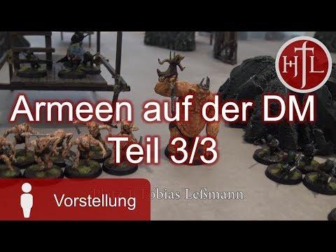 Armeevorstellung oberes Drittel von der DM 2017 Teil 3/3