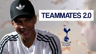 Which Spurs player gets their hair cut twice a week?! | Dele Alli Teammates 2.0