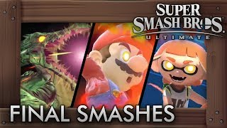 Super Smash Bros. Ultimate - 46 Final Smashes