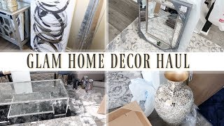 ✨Glam Home✨ HUGE HOME DECOR HAUL | GLAM ROOM DECOR
