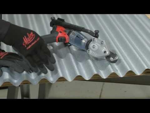 Malco Metal Roofing Corrugated Metal Cutting TurboShear TSCM