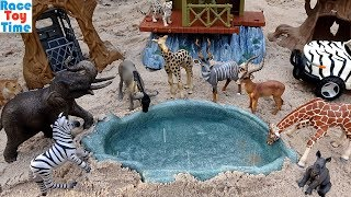 Safari and Jungle Wild Animals Toys For Kids - Learn Animal Names