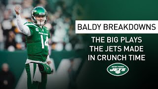 Baldy Breakdowns: Jets Come Up Big In Crunch Time | New York Jets | NFL