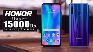 TOP 5 Best Honor Smartphone Under 15000 In India 2019