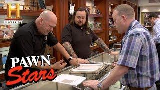 Pawn Stars: Star Wars Signed Script | History