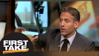 Max Kellerman argues against Kevin Durant going to the Knicks in 2019 | First Take | ESPN