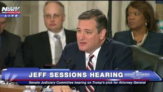 FNN: TED CRUZ Goes Off On Democrats At Jeff Sessions Hearing