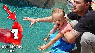 YOU WON'T BELIEVE WHAT WE FOUND IN OUR POOL!!! 😳