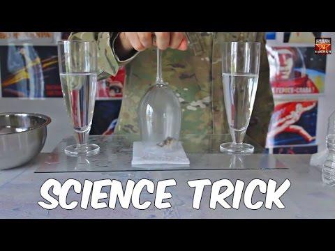 Јака финта со две чаши вода