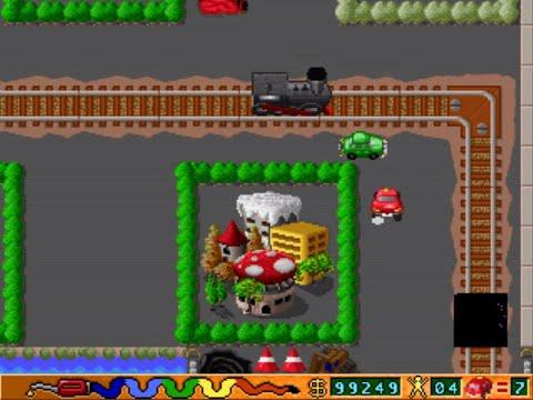 Popo Car (a.k.a. 馬路英雄) (Horng Shen) (MS-DOS) [1994] [PC Longplay]