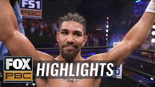 Burley Brooks loses a point, Cameron Rivera wins unanimous decision   HIGHLIGHTS   PBC ON FOX