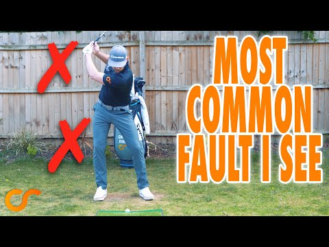 THE MOST COMMON SWING FAULT IM SEEING WHEN COACHING
