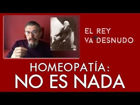 Homeopatía: no es nada