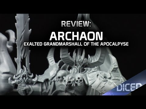 Review: Archaon Exalted Grand Marshal of the Apocalypse | Warhammer|  Age of Sigmar | DICED