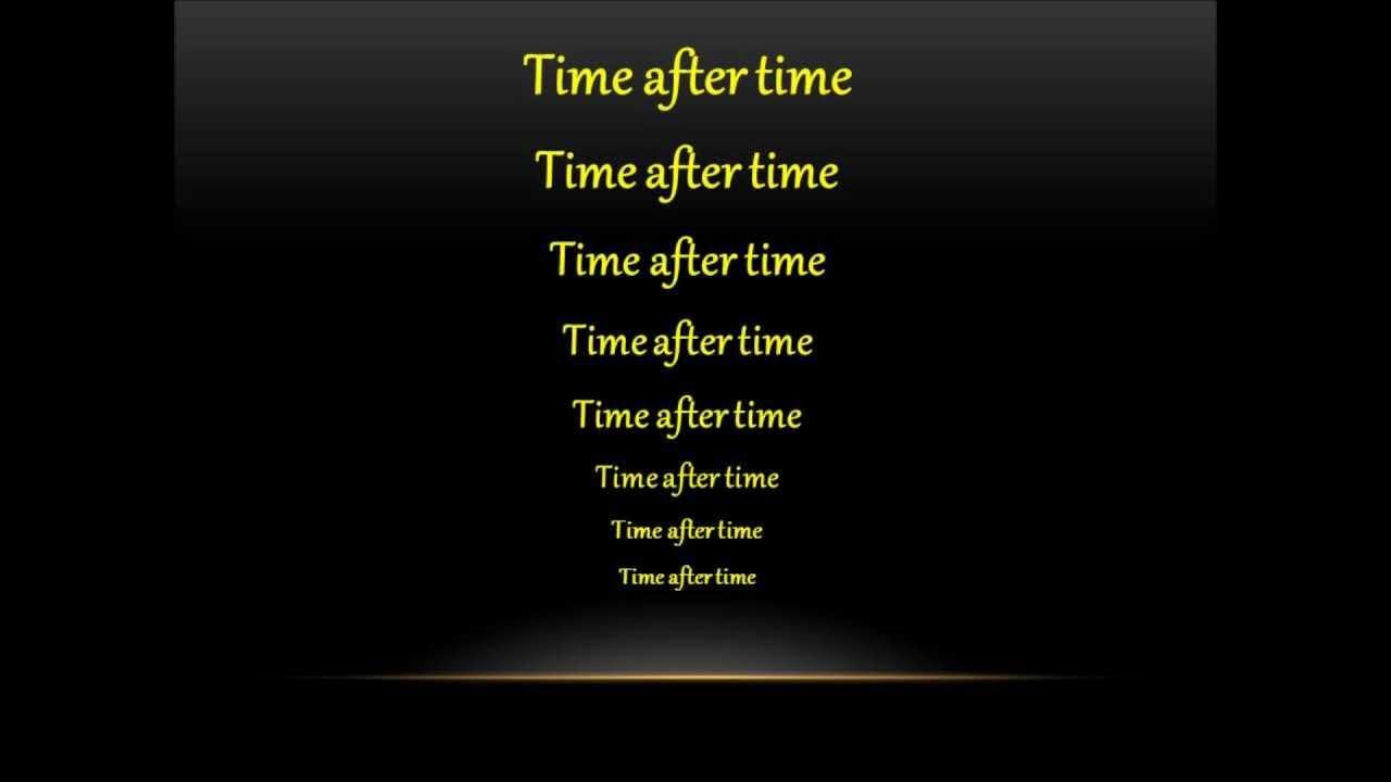 Time After Time Original
