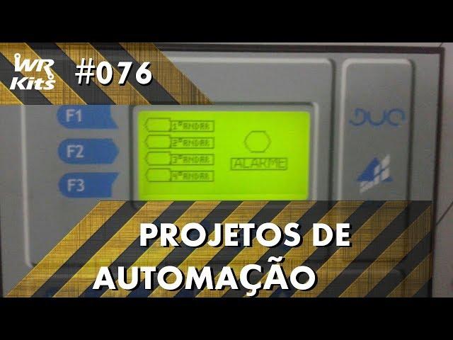 PARADA SUAVE DE MOTOR DE PASSO COM CLP ALTUS DUO | Projetos de Automação #076