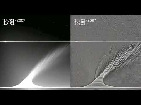 Insights on Comet Tails Are Blowing in the Solar Wind