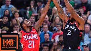 Toronto Raptors vs New Orleans Pelicans Full Game Highlights   11.12.2018, NBA Season