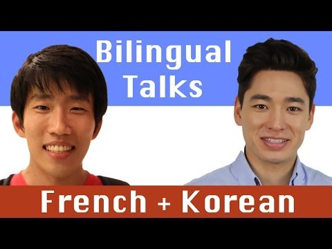 Bilingual Talks | Ep. 15 with Adrien | French + Korean