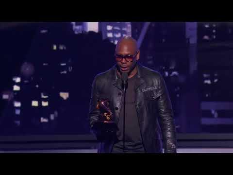 Dave Chappelle Wins Best Comedy Album | Acceptance Speech | 60th GRAMMYs