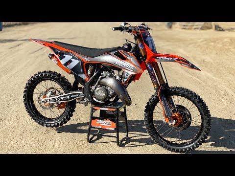 R&D Racing Project KTM 125SX 2 Stroke - Motocross Action Magazine
