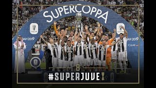 #SuperJuve | Juventus lift their eighth Italian Super Cup!