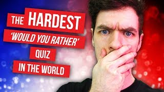 WORLD'S HARDEST WOULD YOU RATHER | Would You Rather #20