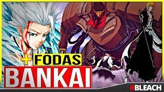 BLEACH: Top 10 BANKAI mais Épicos do Anime