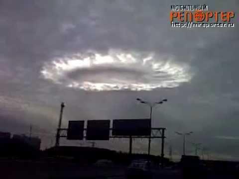 Rusya üzerinde tuhaf bulut HAARP silahı mı deneniyor?