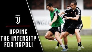 JUVENTUS UP THE INTENSITY FOR NAPOLI