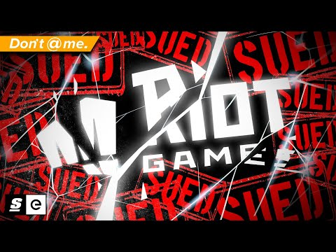 Riot Games Just Got Sued For Harassment AGAIN