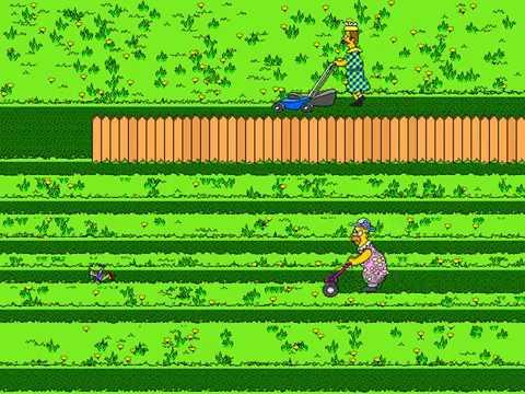 After Dark: The Simpsons Screen Saver (Grass Skirts) (Berkeley Systems) (Windows 3.x) [1994]