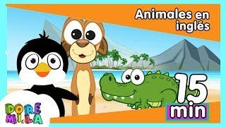 Animales en inglés cantando canciones infantiles (parte 4)