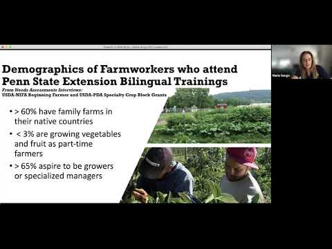 IPM Outreach to the Latino Farming Community
