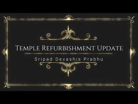 Temple Refurbishment Update