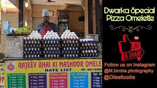 Dwarka Ka Special Pizza Omelette