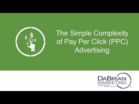 How Pay Per Click (PPC) Advertising Seems Complex But It's Really Simple