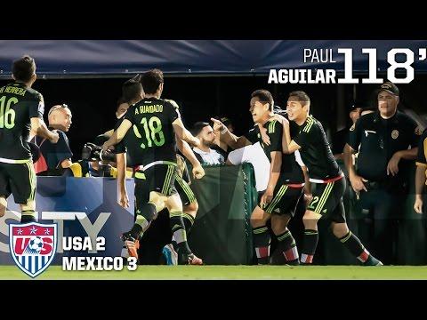 MNT vs. Mexico: Paul Aguilar Goal - Oct. 10, 2015