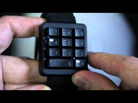 Keypad Hidden Time Watch from ThinkGeek