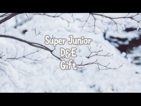 [KAN/ROM/ENG] SUPER JUNIOR-D&E | Gift Lyrics